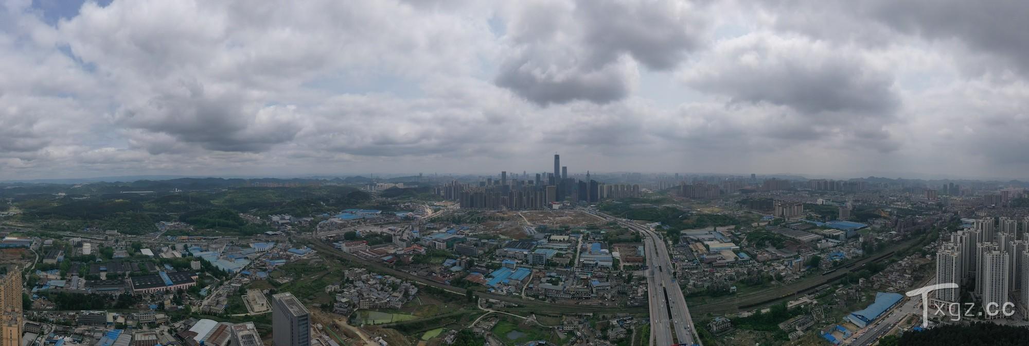 「航拍」白云区视角的金融城