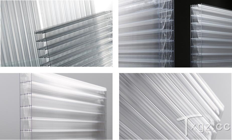 阳光板质量靠全新的PC料